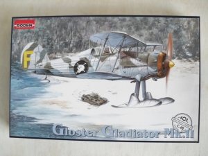 RODEN 1/48 401 GLADIATOR Mk.II WITH SKIS