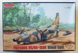 RODEN 1/72 058 FAIRCHILD NC/AC-123K BLACK SPOT