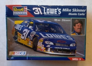 REVELL 1/24 85-2523 31 LOWES MIKE SKINNER MONTE CARLO