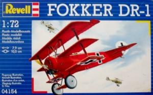 REVELL 1/72 04154 FOKKER DR-1