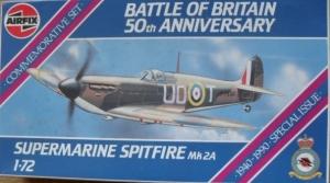 AIRFIX 1/72 02095 SUPERMARINE SPITFIRE Mk.2A