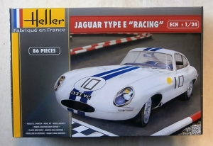 HELLER 1/24 80783 JAGUAR TYPE E RACING