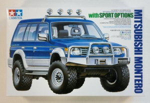 TAMIYA 1/24 24124 MITSUBISHI MONTERO WITH SPORT OPTION