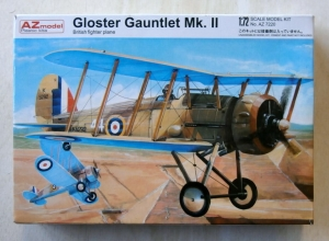 AZ MODEL 1/72 7220 GLOSTER GAUNTLET Mk.II