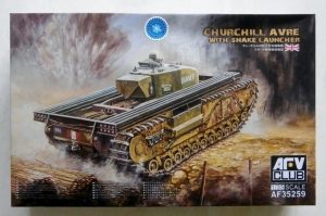 AFV CLUB 1/35 35259 CHURCHILL AVRE WITH SNAKE LAUNCHER