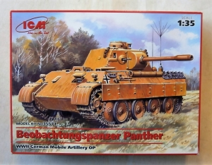 ICM 1/35 35571 BEOBACHTUNGSPANZER PANTHER MOBILE ARTILLERY OP