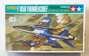 TAMIYA 1/100 60029 F.H.REPUBLIC F-105D THUNDERCHIEF