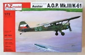 AZ MODEL 1/72 7523 AUSTER A.O.P Mk.III K-61