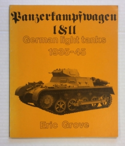 CHEAP BOOKS  ZB695 PANZERKAMPFWAGON I II GERMAN LIGHT TANKS 1935-45