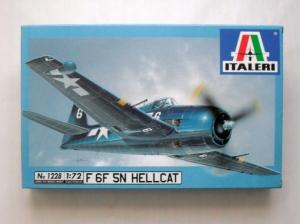 ITALERI 1/72 1228 F6F 5N HELLCAT