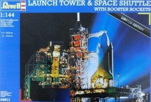 REVELL 1/144 04911 LAUNCH TOWER   SPACE SHUTTLE WITH BOOSTER ROCKETS  UK SALE ONLY