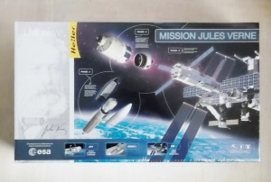 HELLER  52909 MISSION JULES VERNE 1/125  UK SALE ONLY