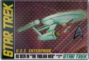 AMT OTHER SCALE 695 STAR TREK USS ENTERPRISE - THOLIAN WEB 1/650