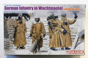 DRAGON 1/35 6518 GERMAN INFANTRY IN WACHTMANTEL LENINGRAD 1943
