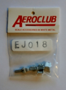 AEROCLUB 1/72 EJ018 Q7-A EJECTION SEATS