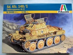 ITALERI 1/35 6448 Sd.Kfz 140/1 AUFKLARUNGSPANZER 38 t