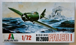 ITALERI 1/72 A104 REGGIANE Re2000 FALCO I
