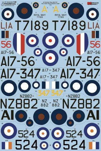 XTRADECAL 1/48 48205 DE HAVILLAND TIGER MOTH Pt1