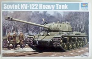 TRUMPETER 1/35 01570 SOVIET KV-122 HEAVY TANK