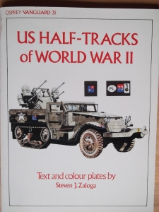 VANGUARD  31. US HALF TRACKS OF WWII