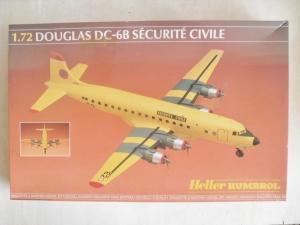 HELLER 1/72 80316 DOUGLAS DC-6B SECURITIE CIVILE