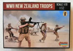 STRELETS 1/72 M111 WWII NEW ZEALAND TROOPS