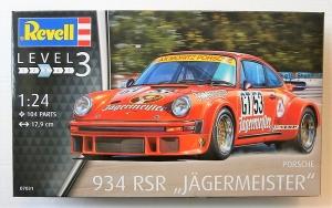 REVELL 1/24 07031 PORSCHE 934 RSR JAGERMEISTER