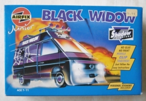 AIRFIX  04901 JUNIOR BLACK WIDOW