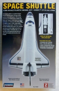 LINDBERG 1/200 91007 SPACE SHUTTLE