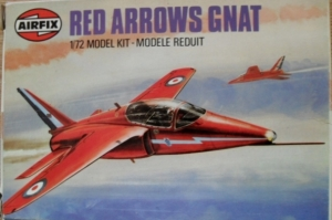 AIRFIX 1/72 01036 HS GNAT RED ARROWS