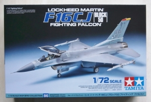 TAMIYA 1/72 60786 F-16CJ BLOCK 50 FIGHTING FALCON