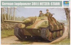 TRUMPETER 1/35 05524 GERMAN JAGDPANZER 38 t  HETZER-STARR