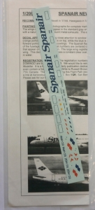 0 1/200 1283. 20253 SPANAIR NEW A320/A321
