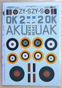 XTRADECAL 1/32 32062 HAWKER HURRICANE Mk.IIC PART 1