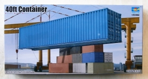 TRUMPETER 1/35 01030 40ft CONTAINER