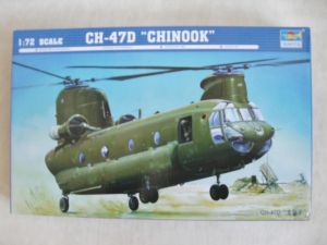 TRUMPETER 1/72 01622 CH-47D CHINOOK