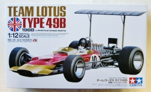 TAMIYA 1/12 12053 TEAM LOTUS TYPE 49B 1968 WITH PHOTOETCHED PARTS