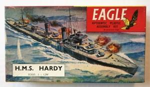 EAGLEWALL 1/1200 HMS HARDY