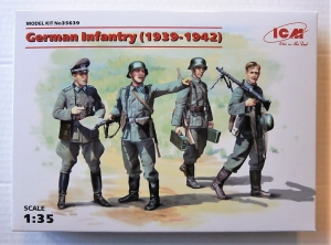 ICM 1/35 35639 GERMAN INFANTRY  1939-1942