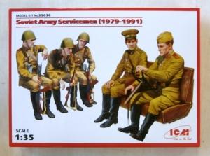 ICM 1/35 35636 SOVIET ARMY SERVICEMEN 1979-1991