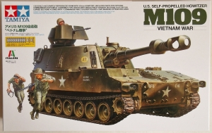 TAMIYA 1/35 37013 M109 US SELF PROPELLED HOWITZER VIETNAM WAR