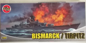 AIRFIX 1/400 08205 BISMARCK/TIRPITZ  UK SALE ONLY