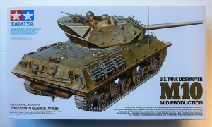 TAMIYA 1/35 35350 M10 MID PRODUCTION US TANK DESTROYER