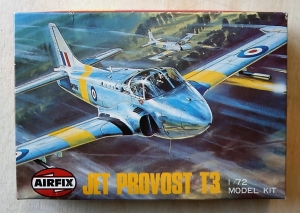 AIRFIX 1/72 X-104 JET PROVOST T3 JAPANESE BOXING