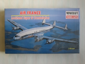 MINICRAFT 1/144 14475 LOCKHEED SUPER G CONSTELLATION AIR FRANCE