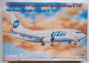 EASTERN EXPRESS 1/144 14421 MEDIUM RANGE AIRLINER B735 UTAIR