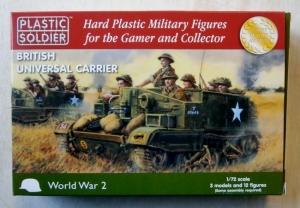 PLASTIC SOLDIER 1/72 WW2V20007 BRITISH UNIVERSAL CARRIER