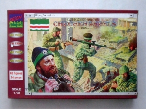 ORION 1/72 72002 CHECHEN REBELS