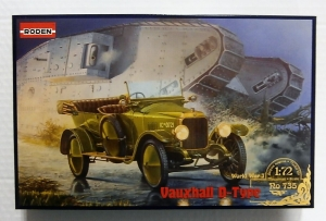 RODEN 1/72 735 VAUXHALL D-TYPE BRITISH STAFF CAR