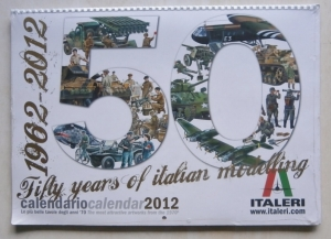 ITALERI  2012 CALENDER
